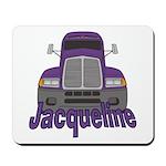 Trucker Jacqueline Mousepad