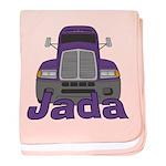 Trucker Jada baby blanket