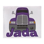 Trucker Jada Throw Blanket