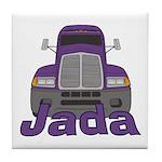 Trucker Jada Tile Coaster