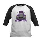 Trucker Jamie Kids Baseball Jersey
