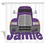 Trucker Jamie Shower Curtain