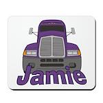 Trucker Jamie Mousepad