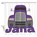 Trucker Jana Shower Curtain