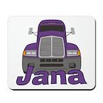 Trucker Jana Mousepad