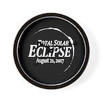 Eclipse 2017 Wall Clock