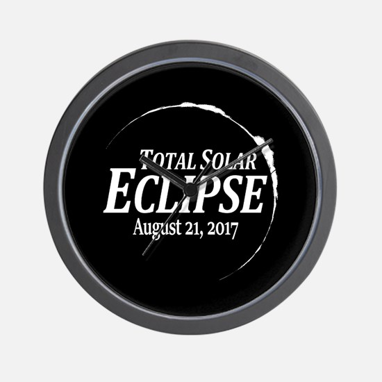 Eclipse 2017 Wall Clock