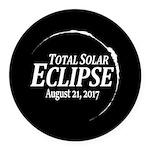 Eclipse 2017 Round Car Magnet