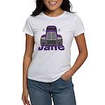 Trucker Jane Women's T-Shirt