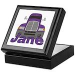 Trucker Jane Keepsake Box