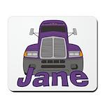 Trucker Jane Mousepad
