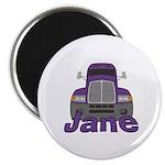 Trucker Jane Magnet