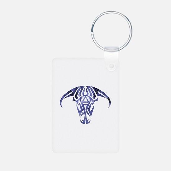 A.A. Logo Taurus - Aluminum Photo Keychain
