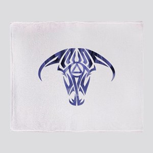 A.A. Logo Taurus - Throw Blanket