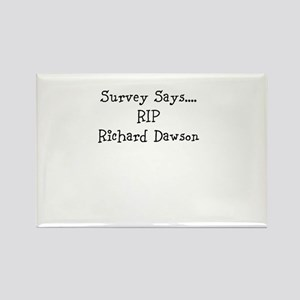 rip_richard_dawson Rectangle Magnet