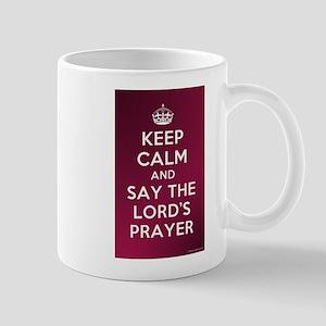 KEEP CALM - LORDS PRAYER Mug