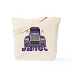 Trucker Janet Tote Bag