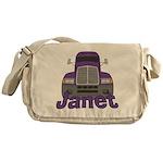 Trucker Janet Messenger Bag
