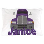 Trucker Janice Pillow Case