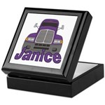 Trucker Janice Keepsake Box