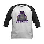 Trucker Jasmine Kids Baseball Jersey