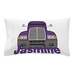 Trucker Jasmine Pillow Case