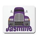 Trucker Jasmine Mousepad