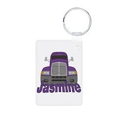 Trucker Jasmine Keychains