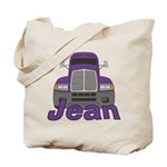 Trucker Jean Tote Bag