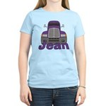 Trucker Jean Women's Light T-Shirt