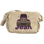 Trucker Jean Messenger Bag