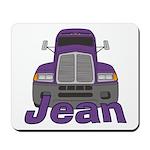 Trucker Jean Mousepad