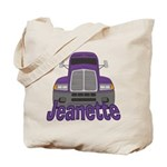 Trucker Jeanette Tote Bag