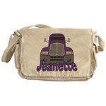 Trucker Jeanette Messenger Bag