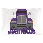 Trucker Jeanette Pillow Case