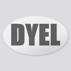 DYEL Sticker (Oval 10 pk)