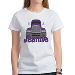 Trucker Jeanne Women's T-Shirt