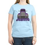 Trucker Jeanne Women's Light T-Shirt