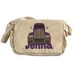 Trucker Jenna Messenger Bag