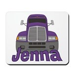 Trucker Jenna Mousepad