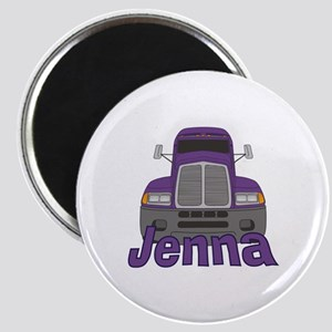 Trucker Jenna Magnet