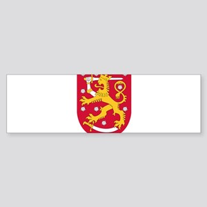 Finland Coat Of Arms Sticker (Bumper)