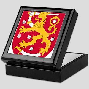 Finland Coat Of Arms Keepsake Box