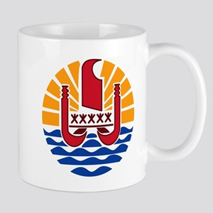 French Polynesia Coat Of Arms Mug
