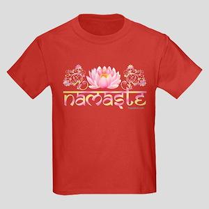 www.YogaGlam.com Kids Dark T-Shirt