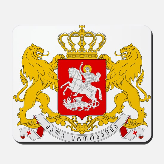 Georgia Coat Of Arms Mousepad