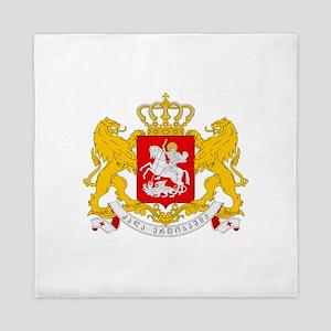 Georgia Coat Of Arms Queen Duvet