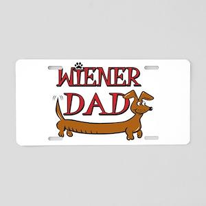 Wiener Dad/Octoberfest Aluminum License Plate