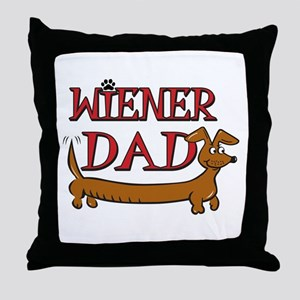 Wiener Dad/Octoberfest Throw Pillow