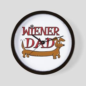 Wiener Dad/Octoberfest Wall Clock